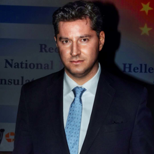 Vassilis Xiros (Consul General at Greek Consulate in Shanghai)